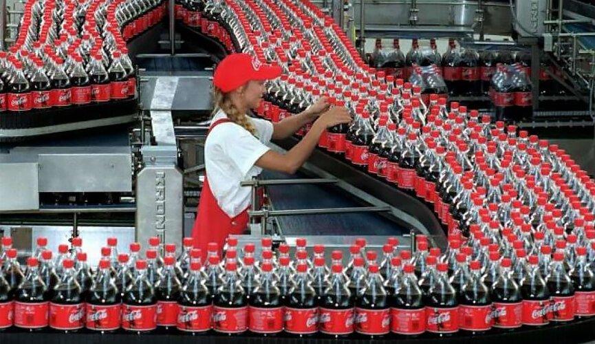 Auxiliar de Produção COCA-COLA