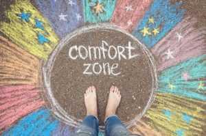 Vida estagnada - Saia da sua zona de conforto
