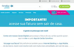 Site oficial Carrefour