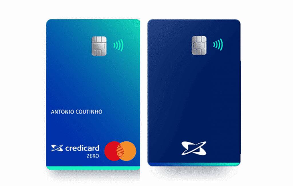 Cartão de Crédito Credicard Platinum sem anuidade e cheio de benefícios e vantagens da bandeira Mastercard.