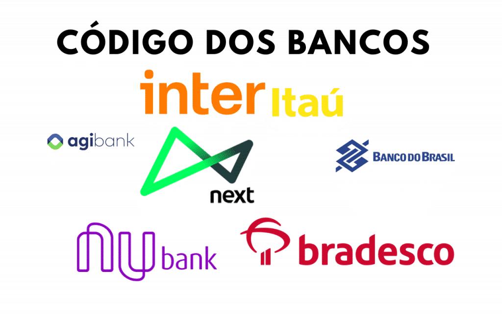 Código de transferência de bancos