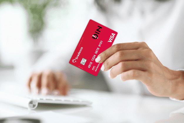 Descubra agora como funciona Din o cartão pré-pago do banco Bradesco e como usar sua função de crédito!