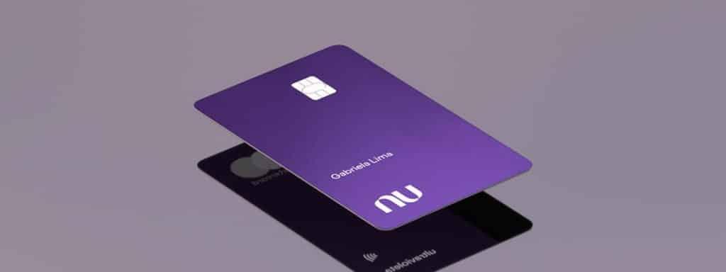 cartão Ultravioleta do Nubank